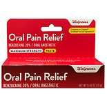 Walgreens Oral Analgesic Paste Assorted