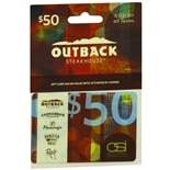 Outback $50 Gift Card