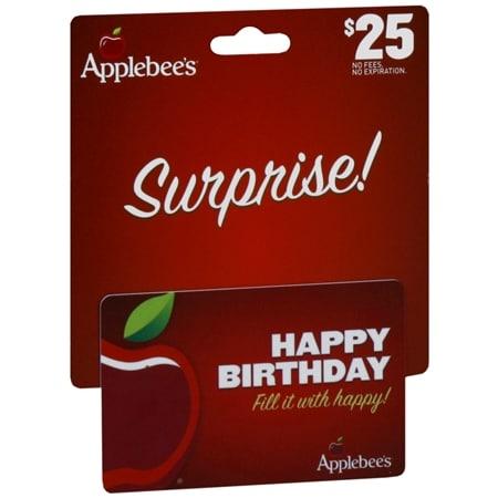 Applebees $25 Gift Card - 1 ea