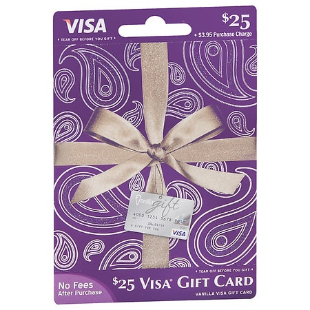 Vanilla Visa 25 Prepaid Gift Card
