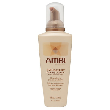 Image of Ambi Even & Clear Foaming Cleanser - 6 fl oz