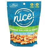 Nice! Cashews Halves & Pieces Lightly Sea Salted