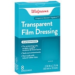 Walgreens Transparent Film Dressings
