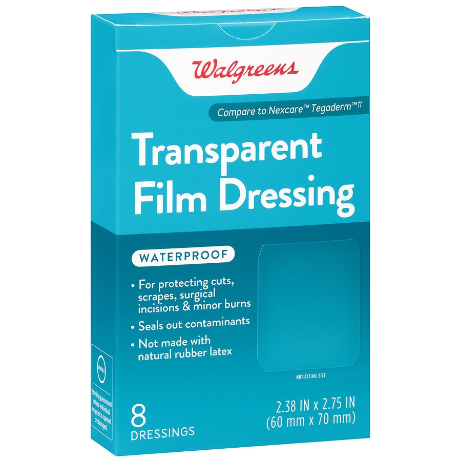 Walgreens Transparent Film Dressings Walgreens