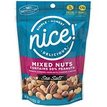 Nice! Mixed Nuts 50% Peanuts Sea Salt