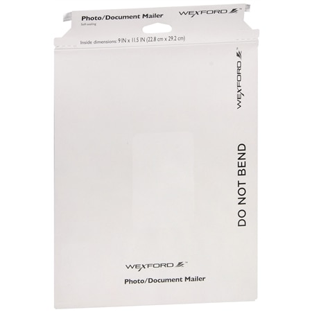 Wexford Photo/Document Mailer 9 inch x 11.5 inch - 1 ea