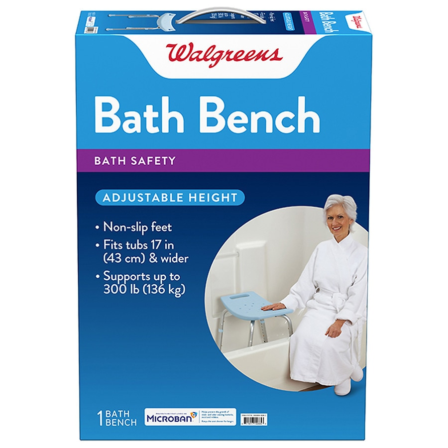 Walgreens Bath Bench with Microban | Walgreens