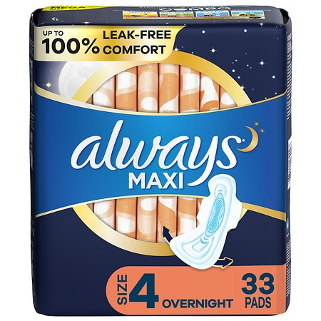 Always overnight pads coupons