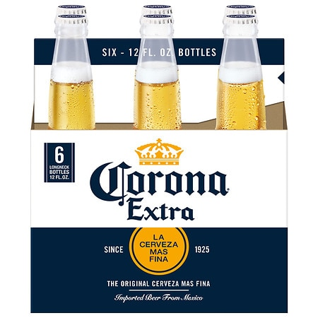 Corona Extra Beer - 12 oz. x 6 pack