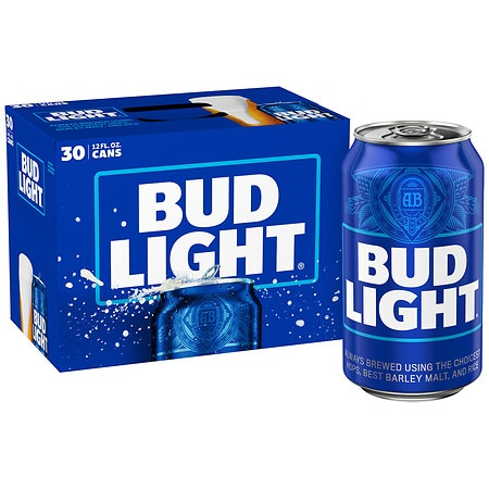 Budweiser Light Beer - 12 oz. x 30 pack