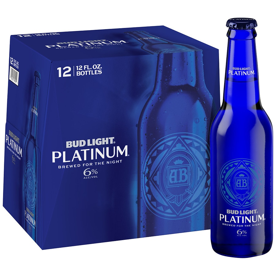 anheuser bud busch light platinum