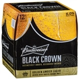 Budweiser Beer Black Crown