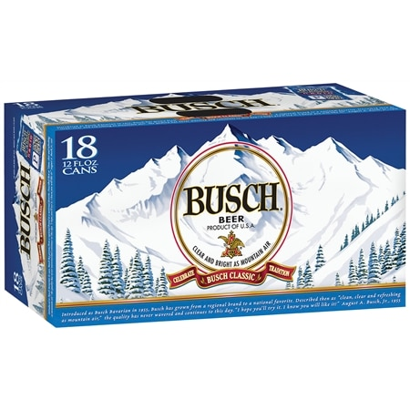 Busch Beer - 12 oz. x 18 pack
