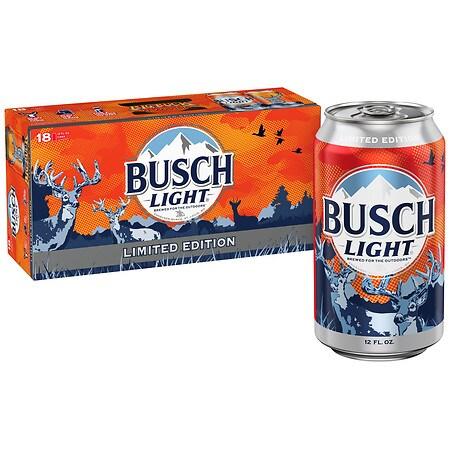 Busch Light Beer - 12 oz. x 18 pack