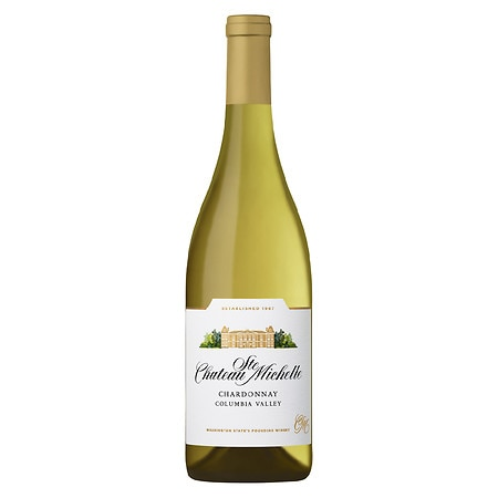 Chateau Ste. Michelle Columbia Valley Chardonnay Wine Bottle - 750 ml