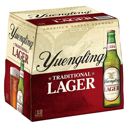 Yuengling Lager Beer - 12 oz. x 12 pack