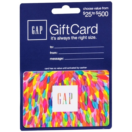 This eGiftCard is issued by and represents an obligation of Direct Consumer Services. The eGiftCard may be redeemed for merchandise at any Gap, Old Navy, Banana Republic, or Athleta location, including Outlet and Factory stores.