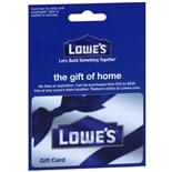 Lowe's Non-Denominational Gift Card