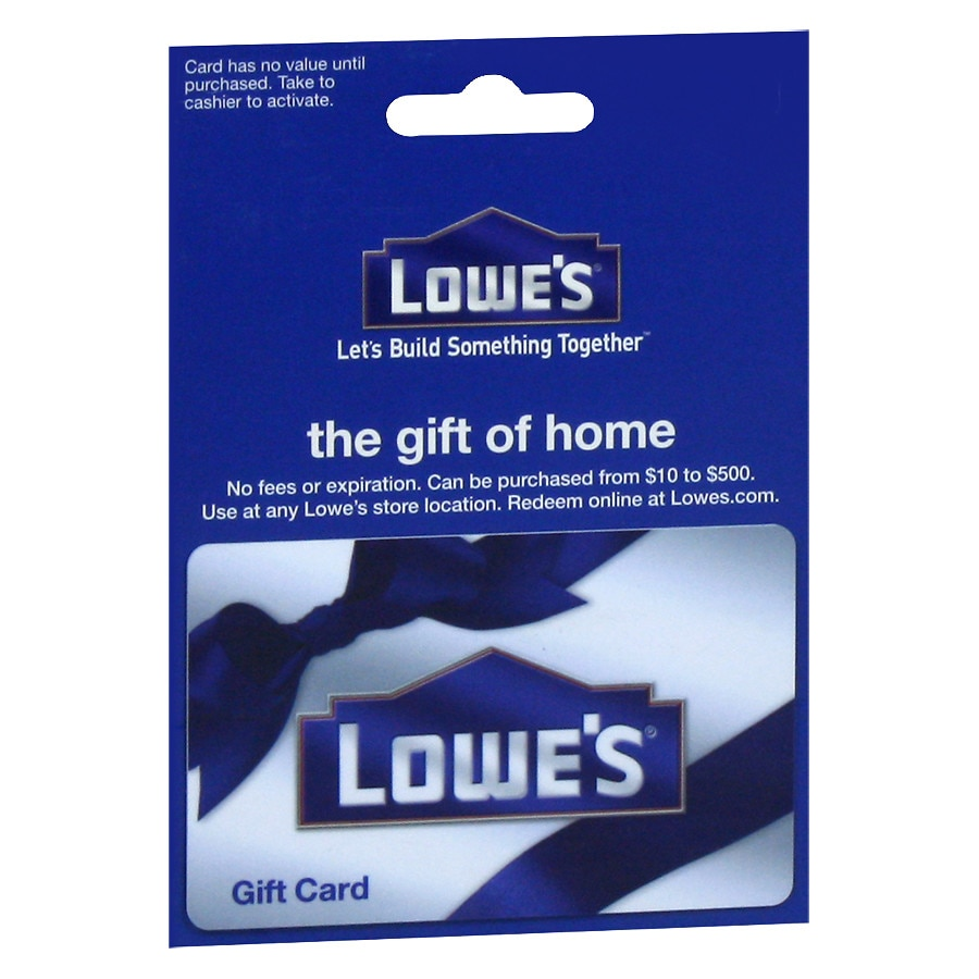 Lowe's Non-Denominational Gift Card | Walgreens