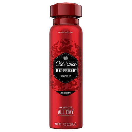 Old Spice Red Zone Refresh Men's Body Spray Swagger