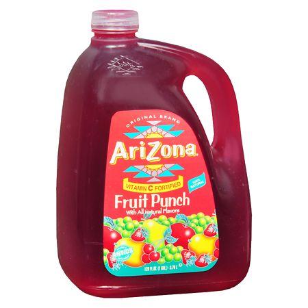 Arizona Drink Fruit Punch - 128 oz.