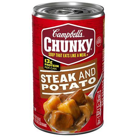 Campbell's Chunky Steak & Potato Soup - 18.8 oz.