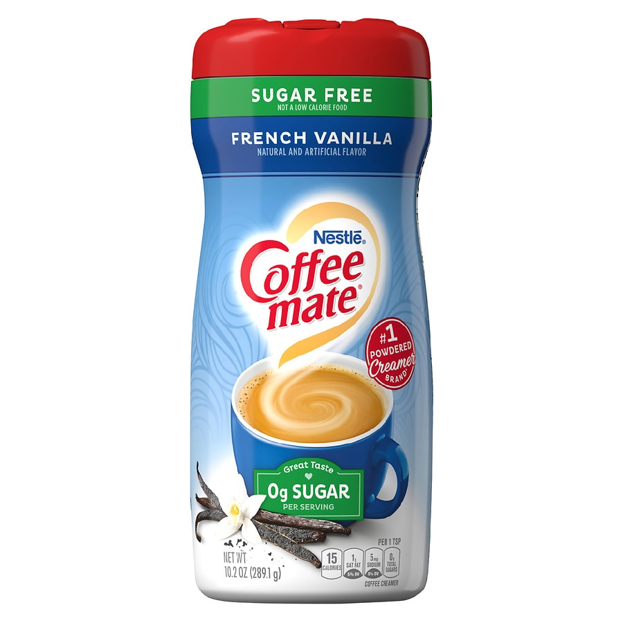 Coffee Mate Sugar Free Creamer French Vanilla | Walgreens