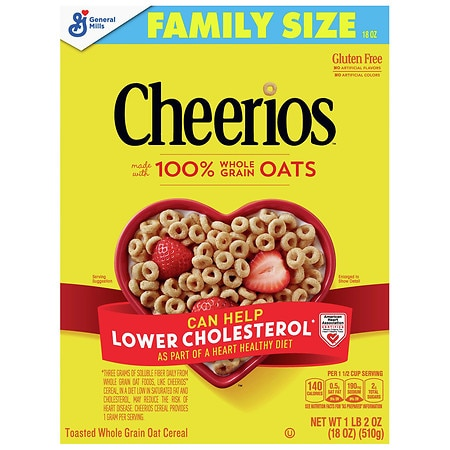 Cheerios Cereal - 18 oz.