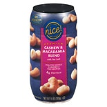 Nice! Premium Cashew & Macadamia Blend with Sea Salt Roasted