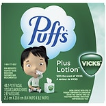 Puffs Facial Tissue With Vicks Scent