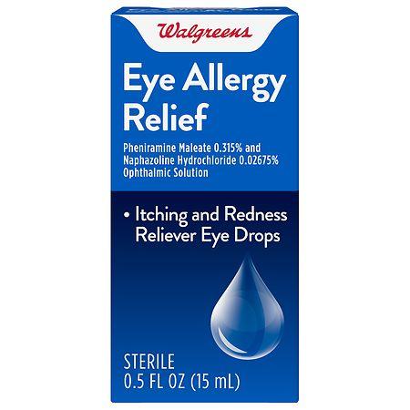 Eye allergy drops