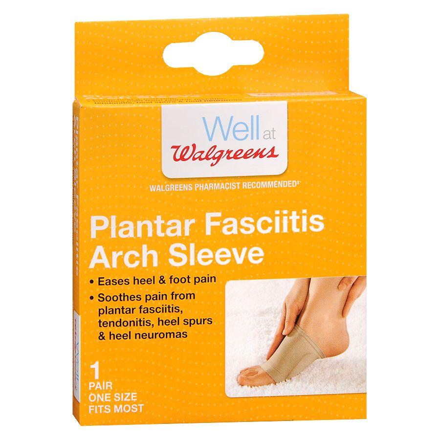 a4b3e822aa Walgreens Plantar Fasciitis Arch Sleeves One Size | Walgreens