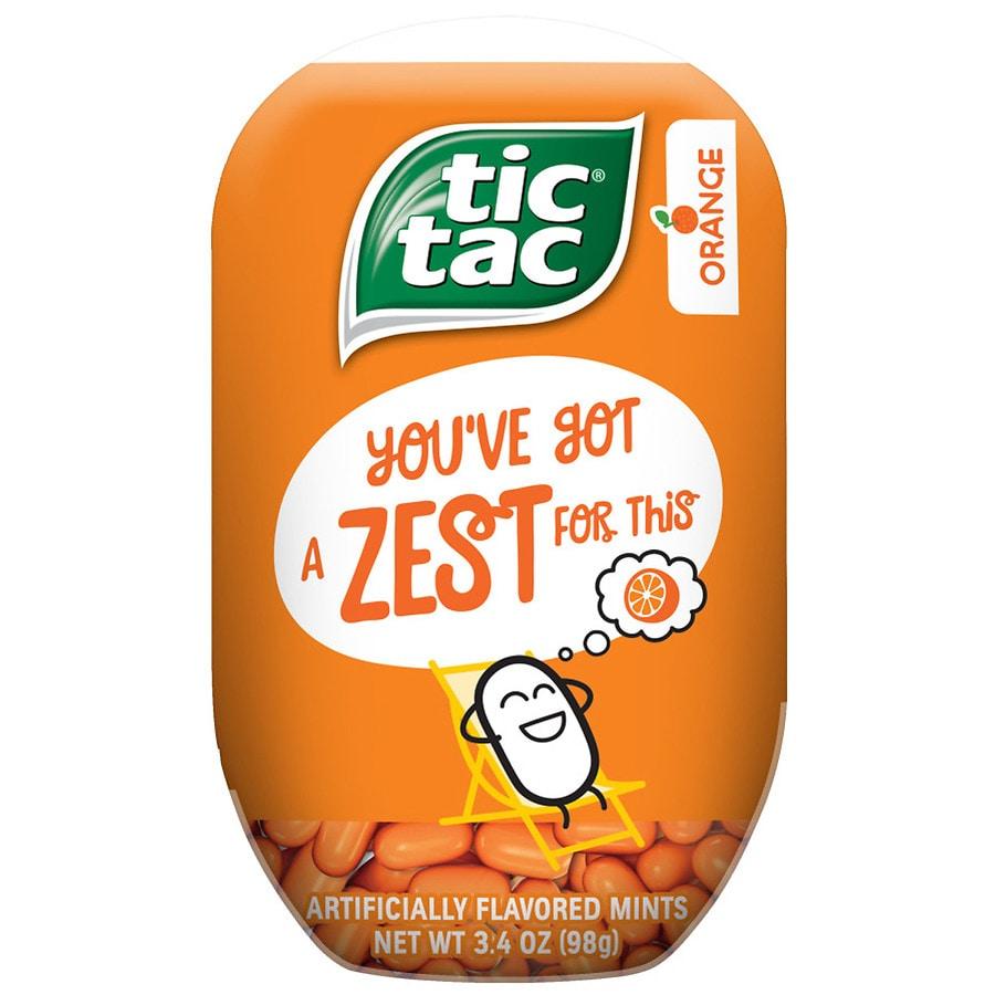Tic Tac Mints 200 Pieces Orange   Walgreens