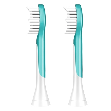 Philips Sonicare Kids Standard Brush Head, HX6042/94 Standard - 2 ea