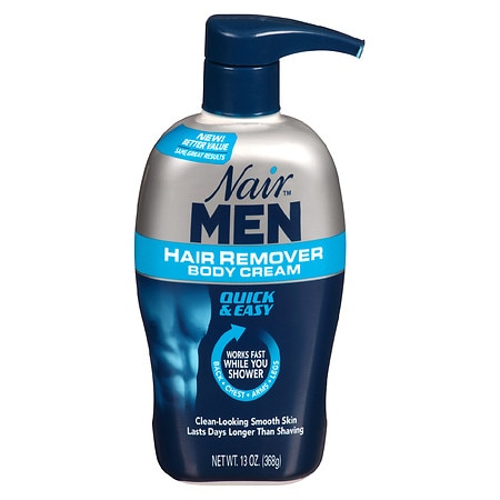 Nair Men Hair Removal Body Cream Walgreens