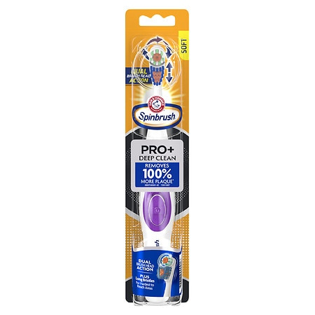Truly Radiant by Arm & Hammer Powered Toothbrush, Deep Clean