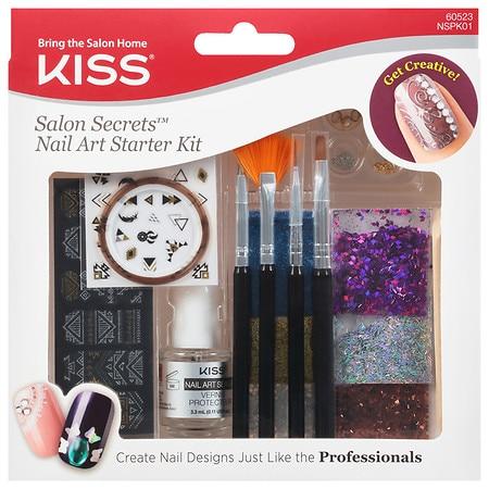 Kiss Salon Secrets Nail Art Starter Kit - Kiss Nail Art Walgreens