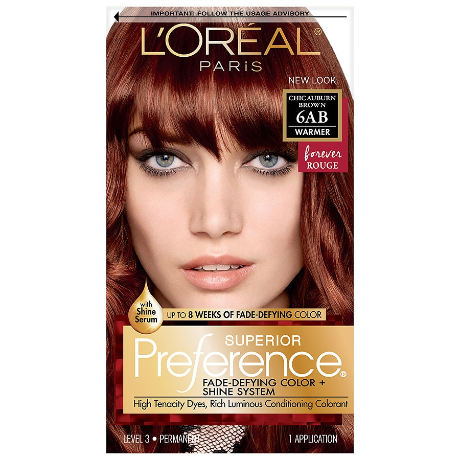 L\'Oreal Paris Superior Preference Permanent Hair Color,6AB Chic ...