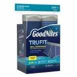 GoodNites TRU-FIT Bedwetting Underwear for Boys, Starter Kit (2 Pants + 5 Inserts) S/ M