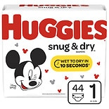 Huggies Snug & Dry Diapers, Size 1