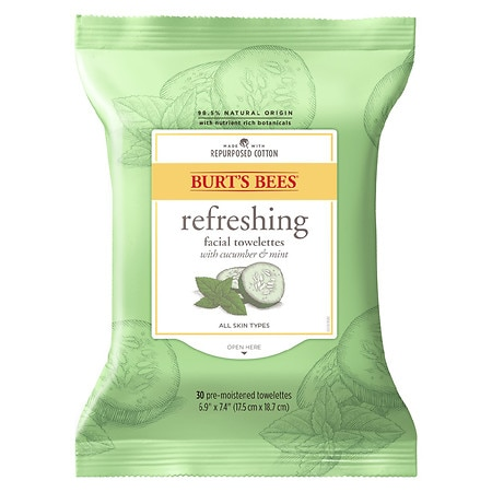 Facial Cleansing Towelettes - Peach & Willowbark Exfoliating by Burt's Bees #18