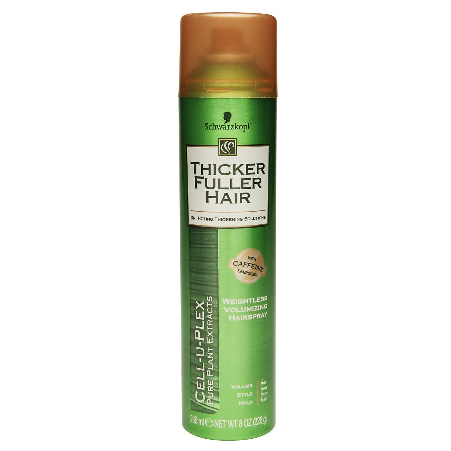 Thicker Fuller Hair Weightless Volumizing Hair Spray ...