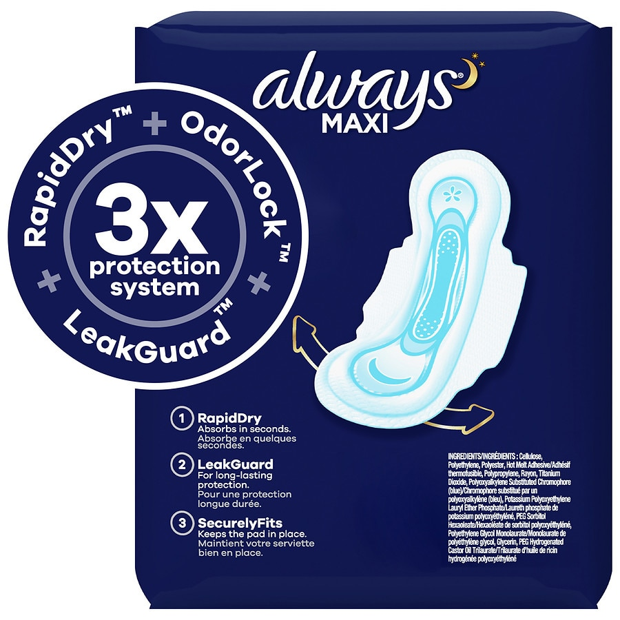 Always maxi pads overnight coupons : Online coupons clearly