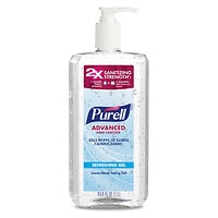 2-Pack Purell 33.8 oz Advanced Hand Sanitizer Pump (Original)
