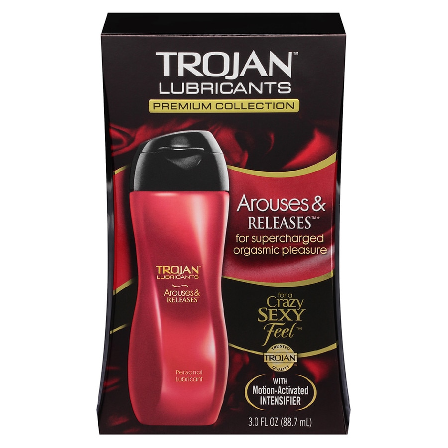 trojan arouses releases personal lubricant walgreens