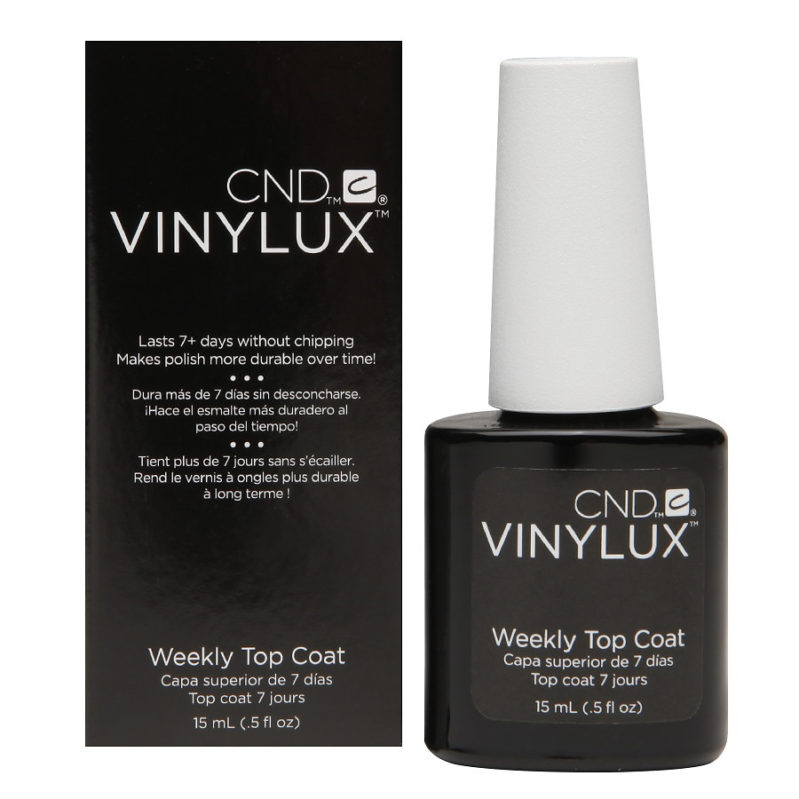 CND Vinylux Weekly Top Coat,Clear | Walgreens