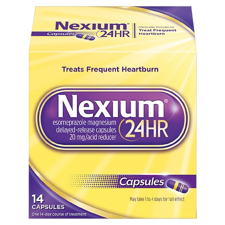 How many days for nexium to work
