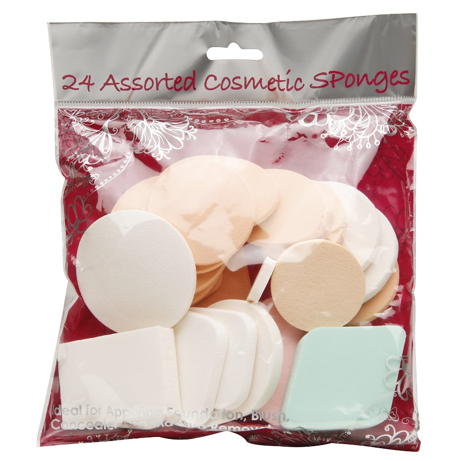 Precision Beauty Assorted Cosmetic Sponges Walgreens