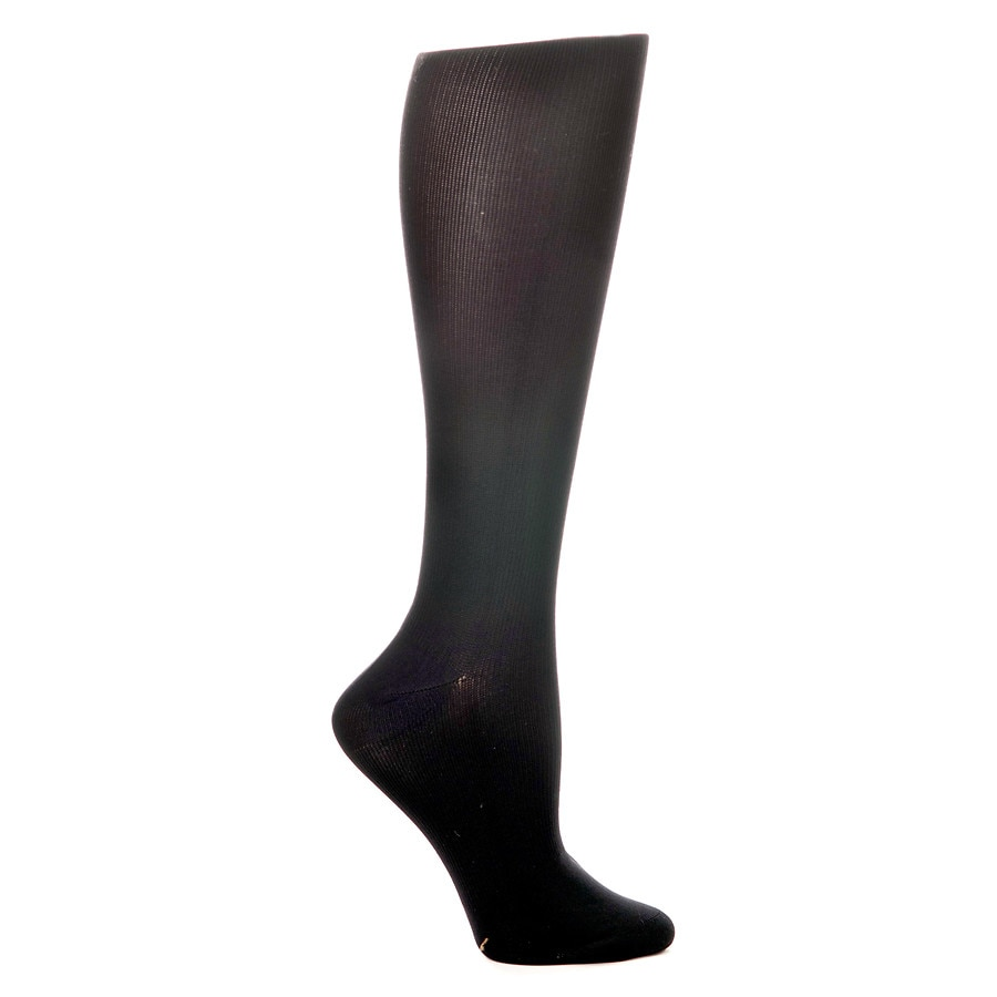 6124f601f3b Celeste Stein Solid 15-20mmhg Compression Socks Black1.0 pr