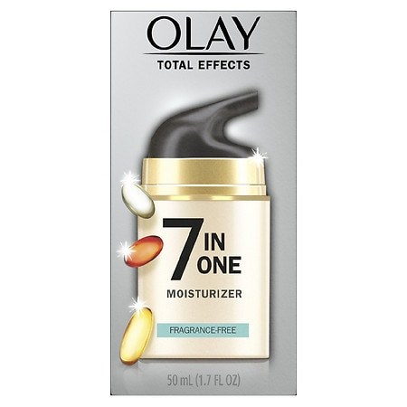 Olay Total Effects 7-in-1 Anti-Aging Face Moisturizer Fragrance-Free
